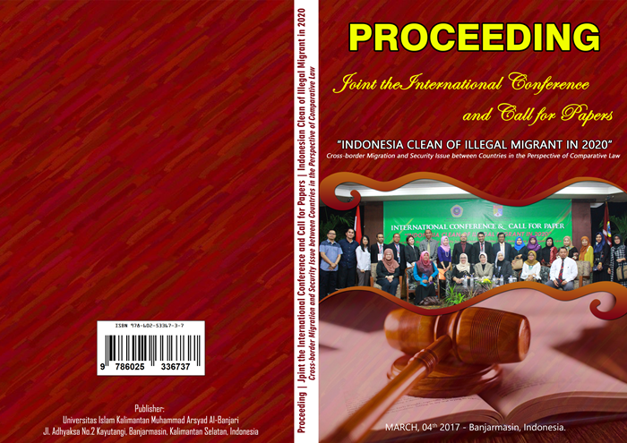 Cover Proceeding International Conference